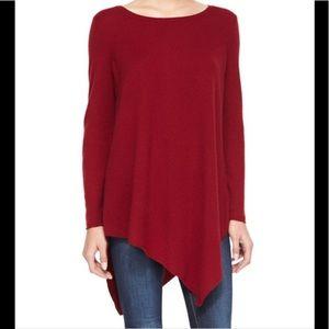 Joie Tambrel wool/cashmere asymmetrical sweater S
